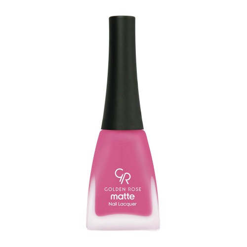 Matte Nail Lacquer - Matowy lakier do paznokci - 01 - Golden Rose