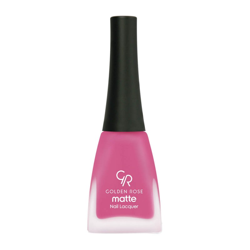 Matte Nail Lacquer - Matowy lakier do paznokci - Golden Rose