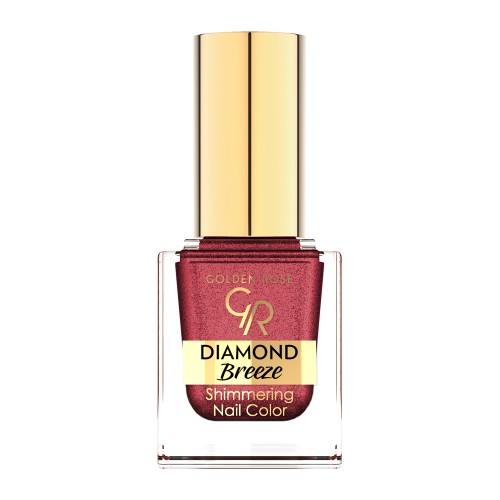 Diamond Breeze Shimmering Nail Color - 04 Brokatowy lakier do paznokci - Golden Rose