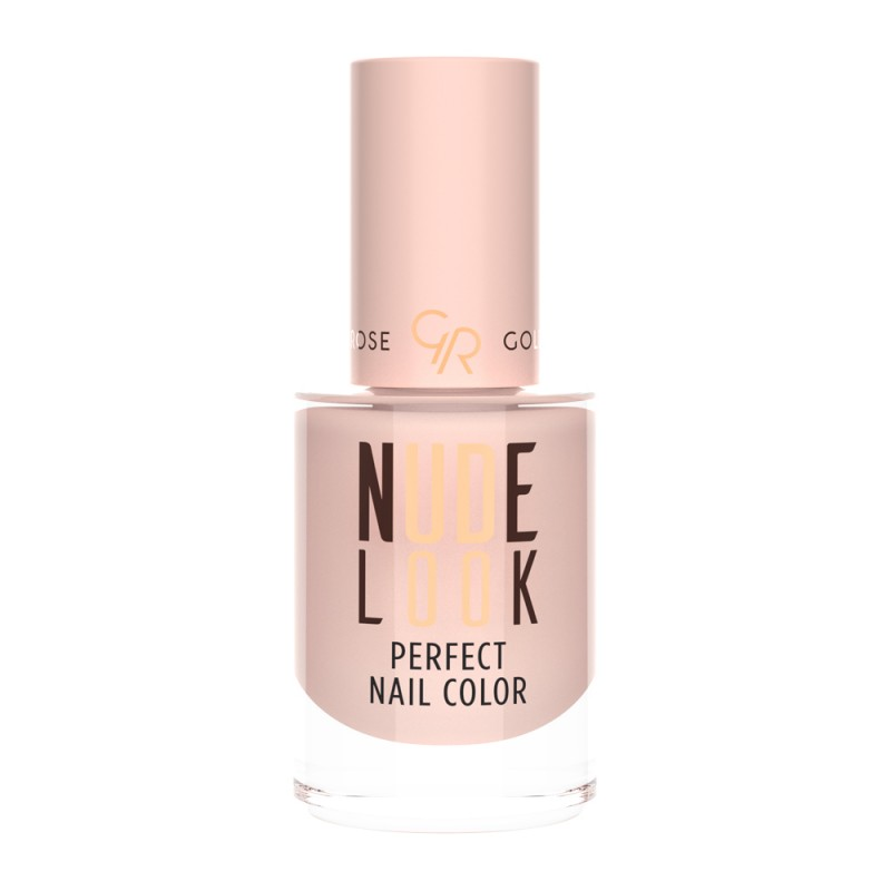 Golden Rose Nude Look Perfect Nail Color 01 Lakier do paznokci