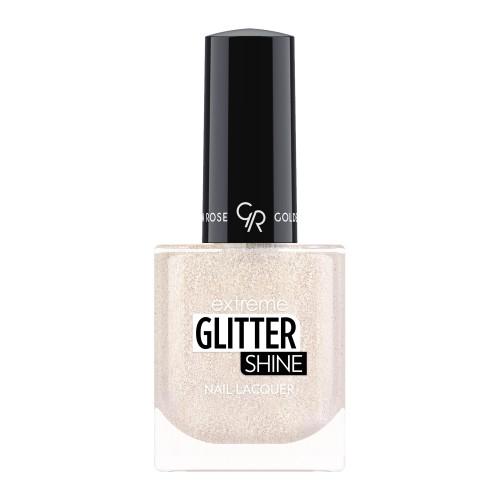 Extreme Glitter Shine Nail Lacquer - Lakier do paznokci Extreme Glitter Shine - 202 -  Golden Rose