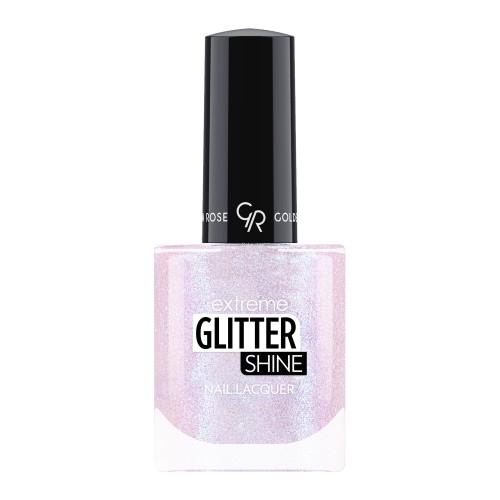 Extreme Glitter Shine Nail Lacquer - Lakier do paznokci Extreme Glitter Shine - 203 -  Golden Rose