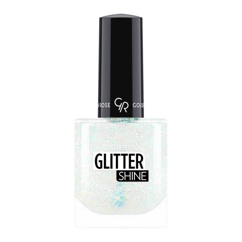 Extreme Glitter Shine Nail Lacquer - Lakier do paznokci Extreme Glitter Shine - 204 -  Golden Rose