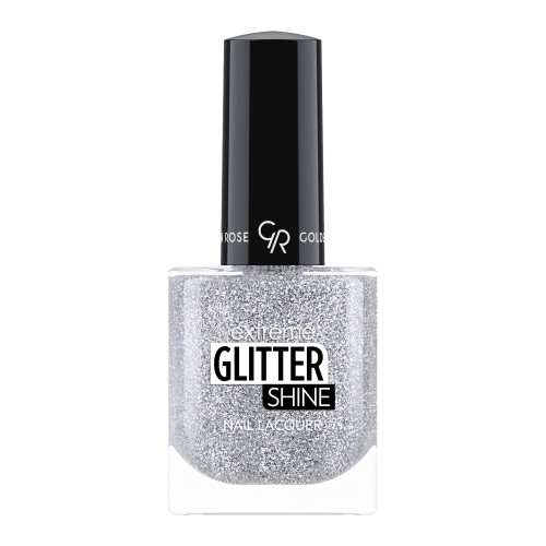 Golden Rose Extreme Glitter Shine Nail Lacquer 204 Lakier do paznokci Extreme Glitter Shine