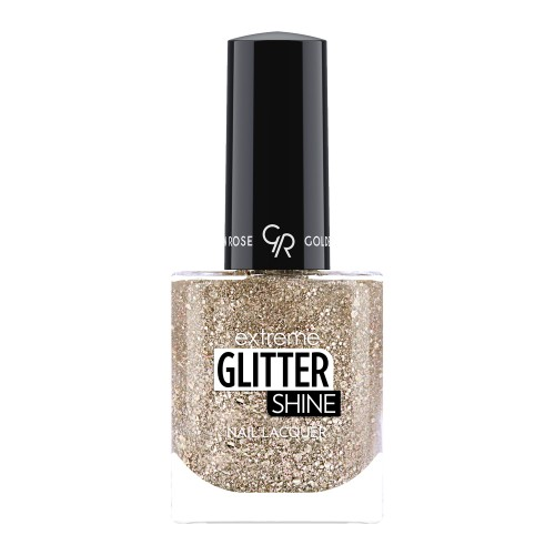 Golden Rose Extreme Glitter Shine Nail Lacquer 207 Lakier do paznokci Extreme Glitter Shine