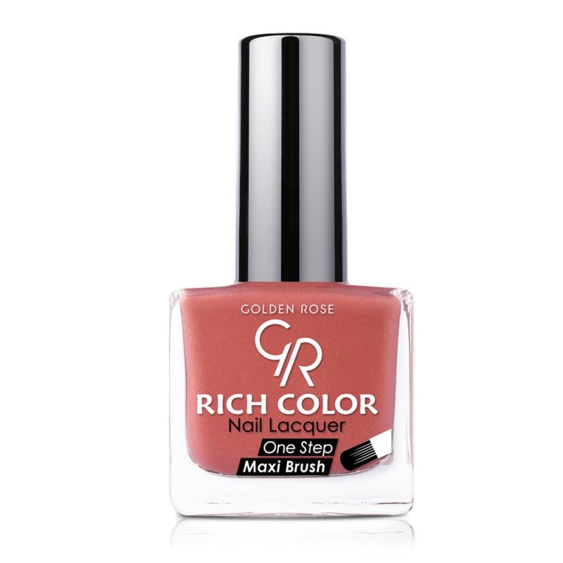 Golden Rose Rich Color Nail Lacquer 06 Trwały lakier do paznokci