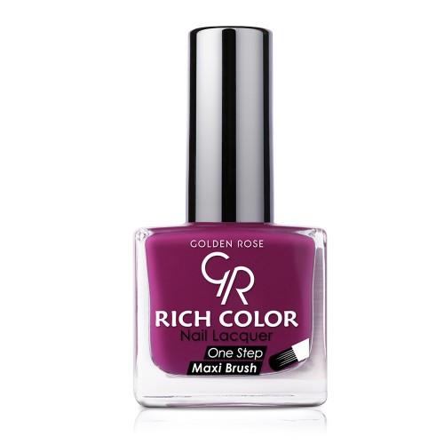 Rich Color Nail Lacquer - Trwały lakier do paznokci - 14 - Golden Rose