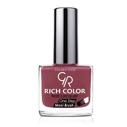Rich Color Nail Lacquer - Trwały lakier do paznokci - 57 - Golden Rose