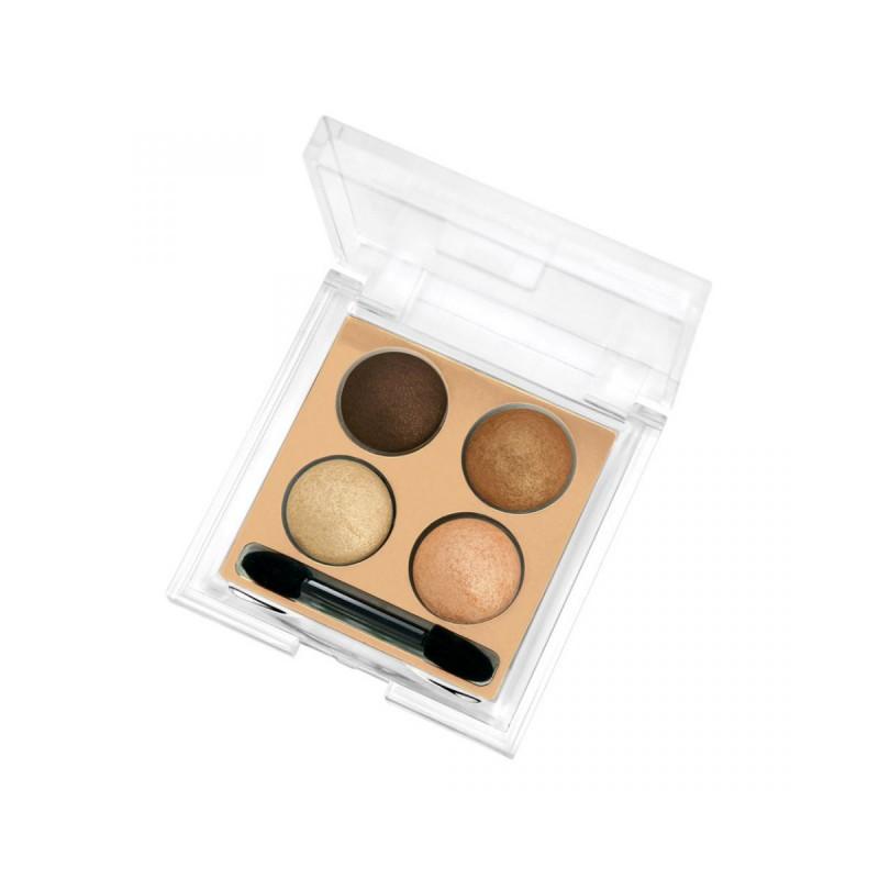 Wet & Dry Eyeshadow - Cienie do powiek na mokro -04 - Golden Rose