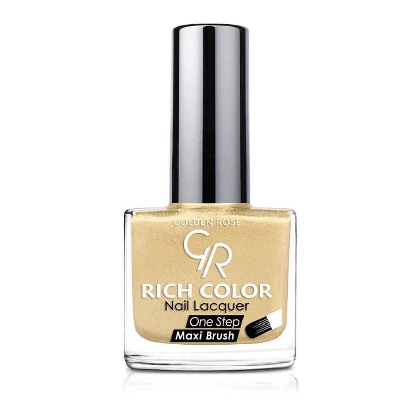 Golden Rose Rich Color Nail Lacquer 77 Trwały lakier do paznokci