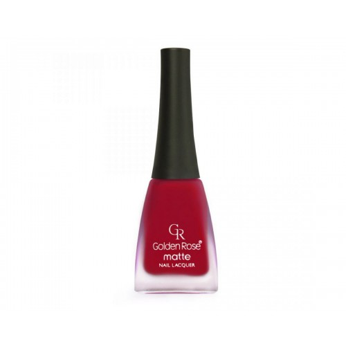 Matte Nail Lacquer - Matowy lakier do paznokci - 03 - Golden Rose