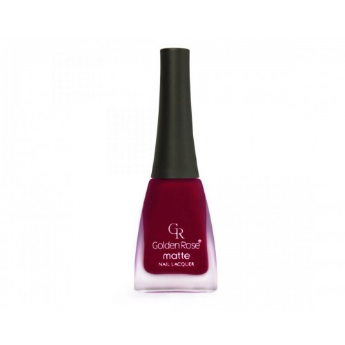 Matte Nail Lacquer - Matowy lakier do paznokci - 04 - Golden Rose