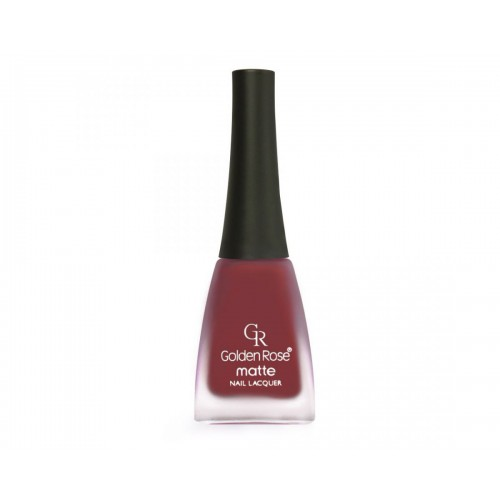 Matte Nail Lacquer - Matowy lakier do paznokci - 05 - Golden Rose