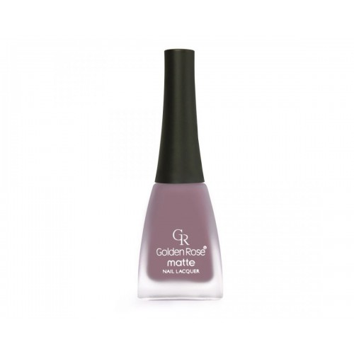 Matte Nail Lacquer - Matowy lakier do paznokci - 06 - Golden Rose