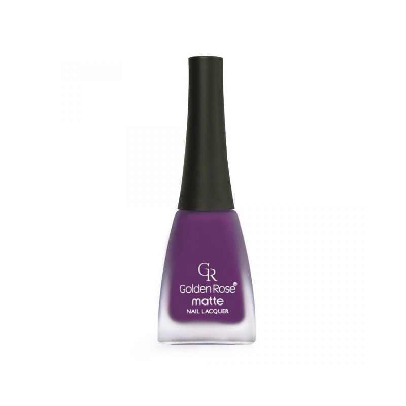 Golden Rose Matte Nail Lacquer 07 Matowy lakier do paznokci