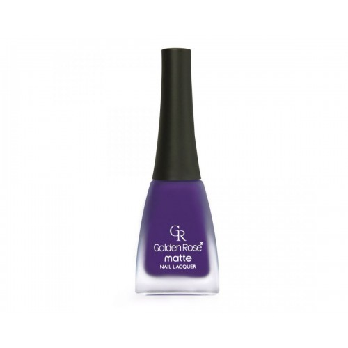 Matte Nail Lacquer - Matowy lakier do paznokci - 09 - Golden Rose