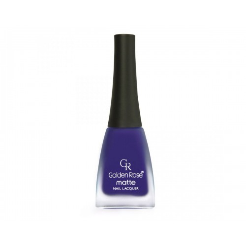 Matte Nail Lacquer - Matowy lakier do paznokci - 10 - Golden Rose