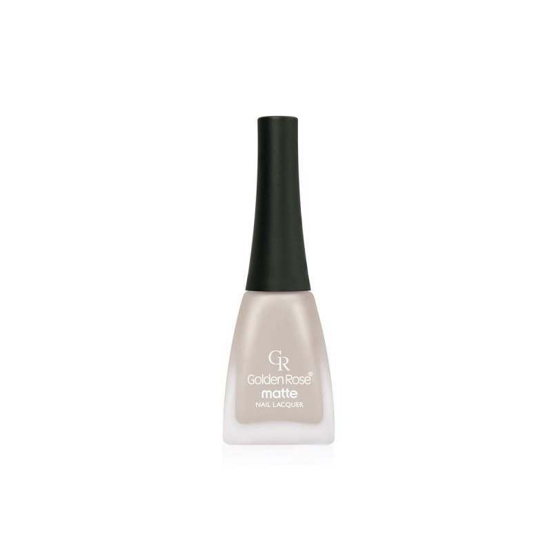 Matte Nail Lacquer - Matowy lakier do paznokci - 20 - Golden Rose