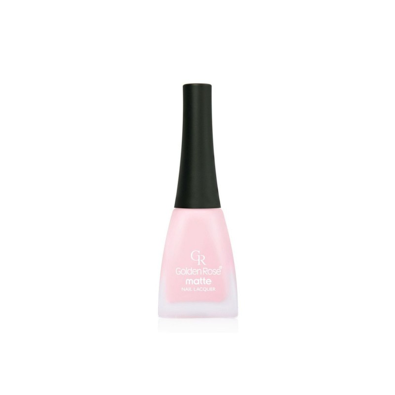 Golden Rose Matte Nail Lacquer 26 Matowy lakier do paznokci
