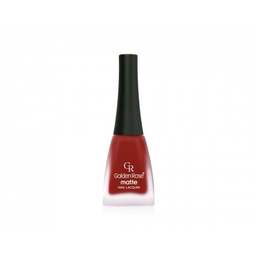 Matte Nail Lacquer - Matowy lakier do paznokci - 32 - Golden Rose