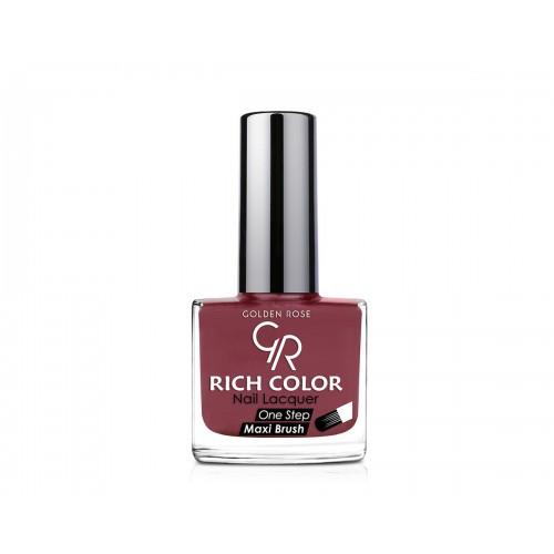 Rich Color Nail Lacquer - Trwały lakier do paznokci - 105 - Golden Rose