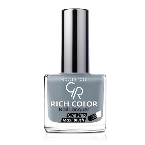 Rich Color Nail Lacquer - Trwały lakier do paznokci - 124- Golden Rose