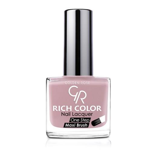 Rich Color Nail Lacquer - Trwały lakier do paznokci - 130 - Golden Rose
