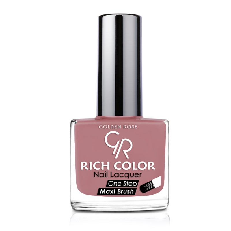 Rich Color Nail Lacquer - Trwały lakier do paznokci - 140 - Golden Rose