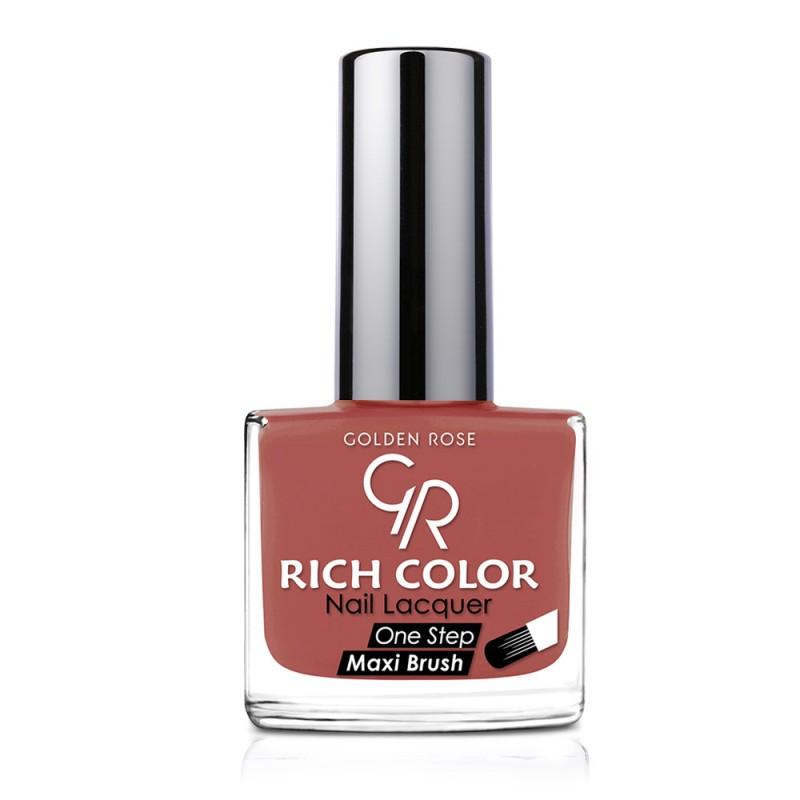 Golden Rose Rich Color Nail Lacquer 141 Trwały lakier do paznokci
