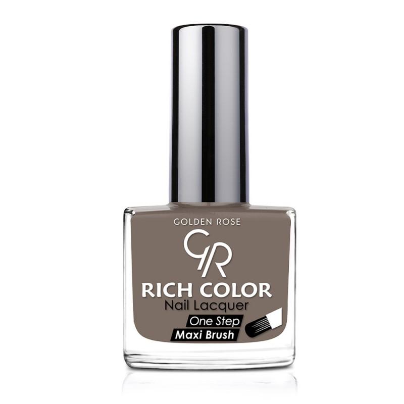 Rich Color Nail Lacquer - Trwały lakier do paznokci - 143 - Golden Rose