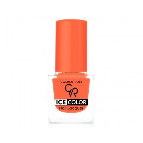 Ice Color Nail Lacquer – Lakier do paznokci - 110 - Golden Rose