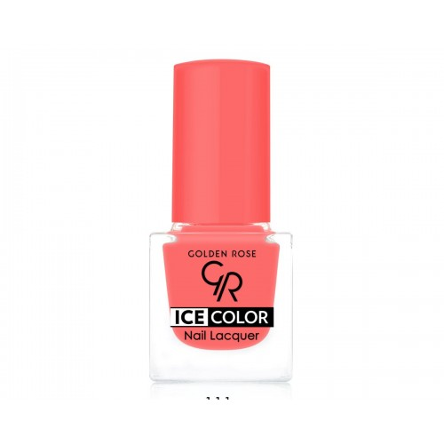 Ice Color Nail Lacquer – Lakier do paznokci - 111 - Golden Rose