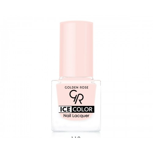 Ice Color Nail Lacquer – Lakier do paznokci - 112 - Golden Rose