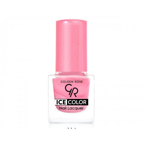 Ice Color Nail Lacquer – Lakier do paznokci - 114 - Golden Rose