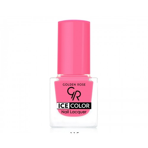 Ice Color Nail Lacquer – Lakier do paznokci - 115 - Golden Rose