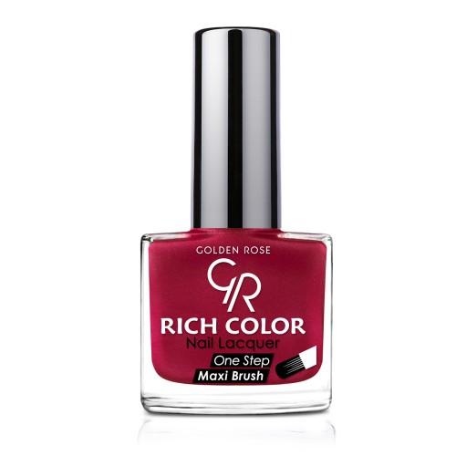 Rich Color Nail Lacquer - Trwały lakier do paznokci - 154 - Golden Rose