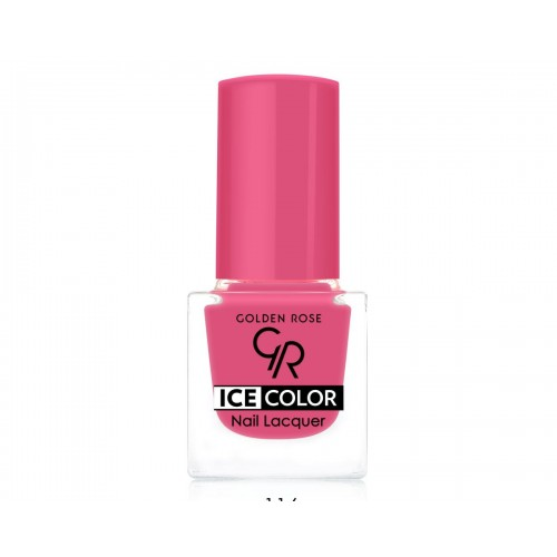 Ice Color Nail Lacquer – Lakier do paznokci - 116 - Golden Rose