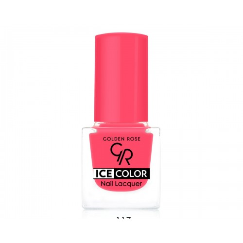 Ice Color Nail Lacquer – Lakier do paznokci - 117 - Golden Rose