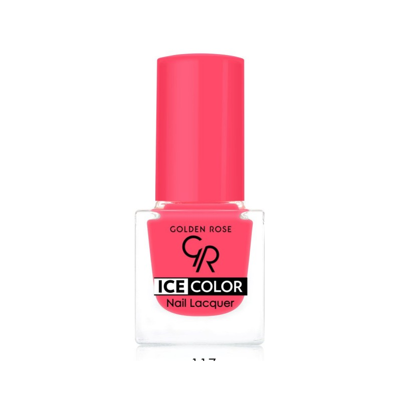 Golden Rose Ice Color Nail Lacquer 117 Lakier do paznokci