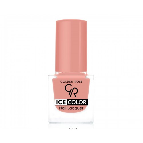 Ice Color Nail Lacquer – Lakier do paznokci - 118 - Golden Rose