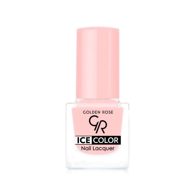Ice Color Nail Lacquer – Lakier do paznokci - 134 - Golden Rose