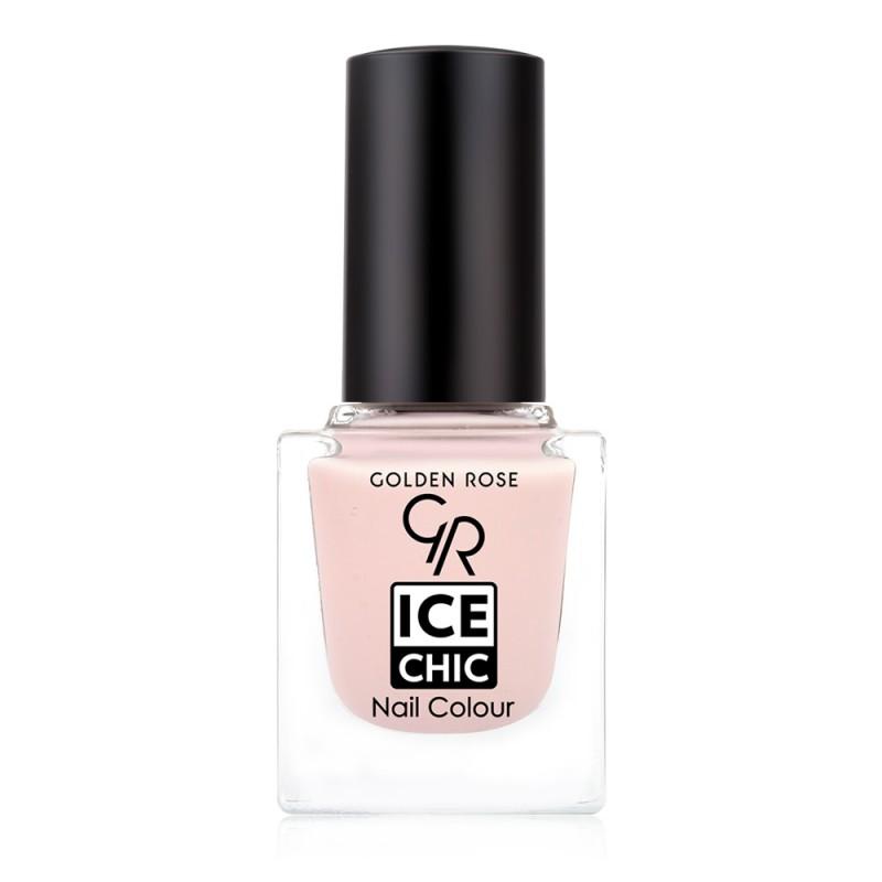 Ice Chic Nail Colour - Lakier do paznokci - 07- Golden Rose