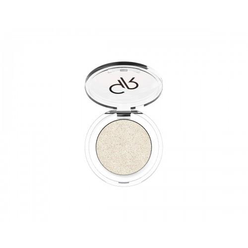 Soft Color Shimmer Mono Eyeshadow - Brokatowy cień do powiek - 83 - Golden Rose