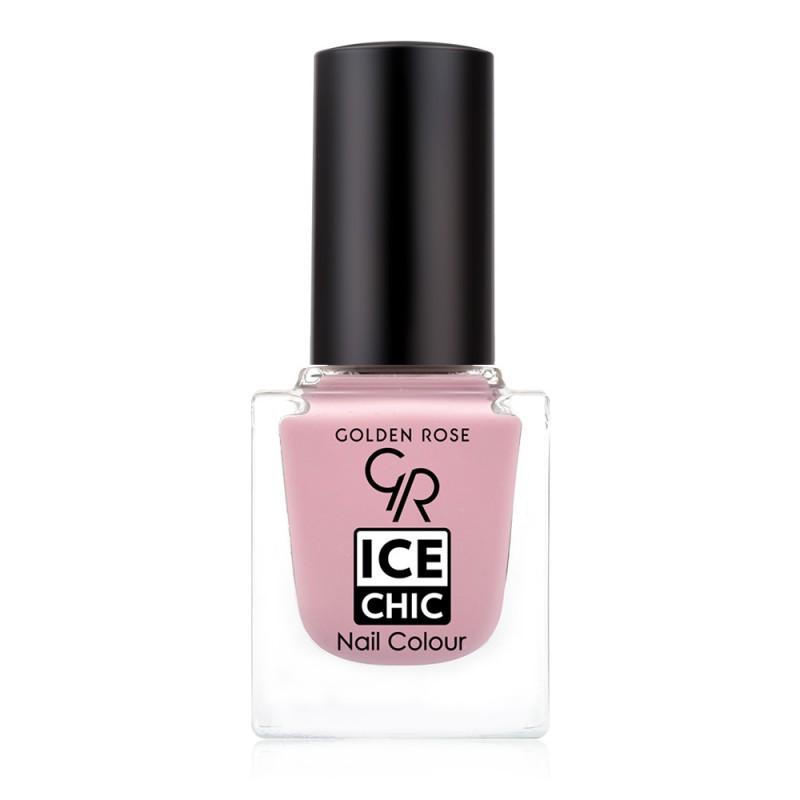 Ice Chic Nail Colour - Lakier do paznokci - 08- Golden Rose