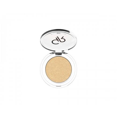 Golden Rose Soft Color Shimmer Mono Eyeshadow 84 Brokatowy cień do powiek