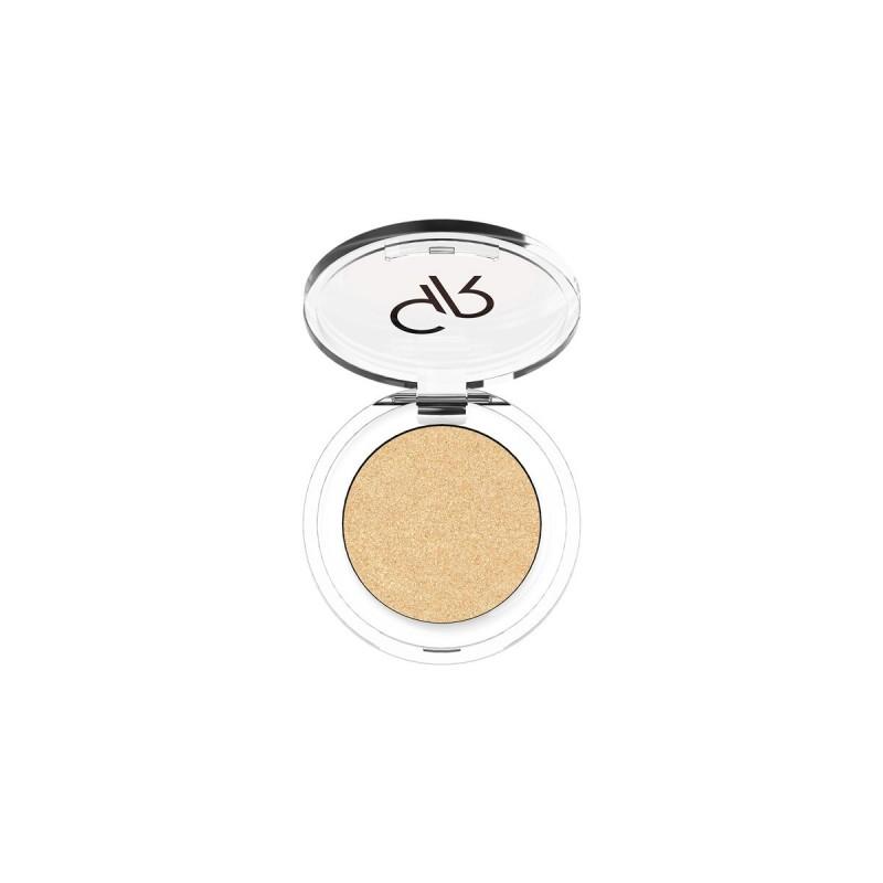 Soft Color Shimmer Mono Eyeshadow - Brokatowy cień do powiek - 84 - Golden Rose