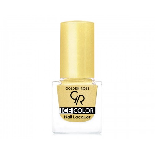 Ice Color Nail Lacquer – Lakier do paznokci - 158 - Golden Rose