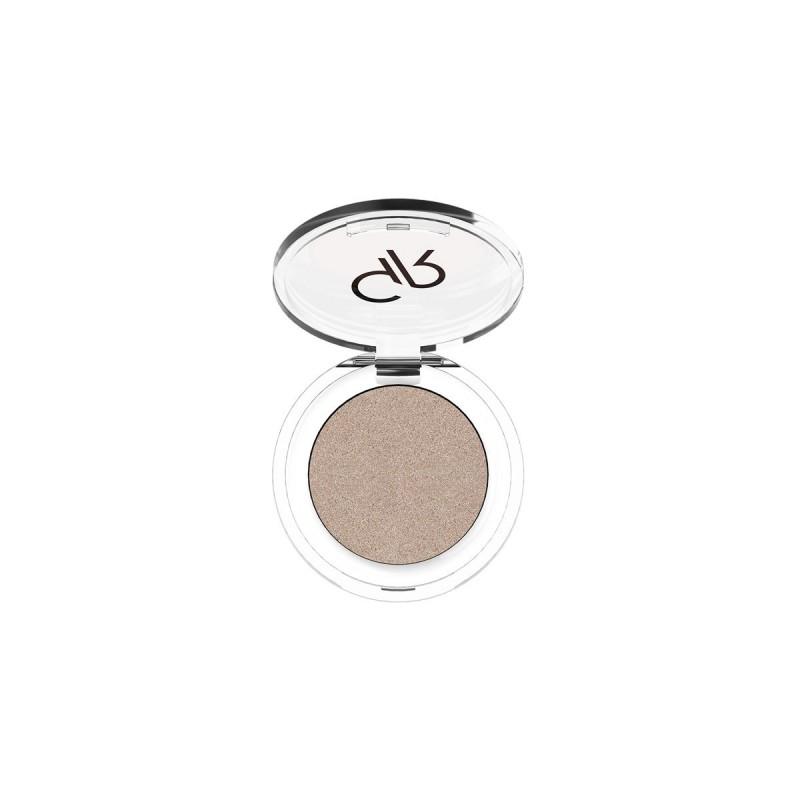 Soft Color Shimmer Mono Eyeshadow - Brokatowy cień do powiek - 86 - Golden Rose