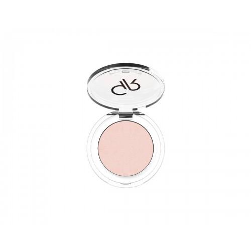 Soft Color Pearl Mono Eyeshadow - Perłowy cień do powiek - 43 - Golden Rose