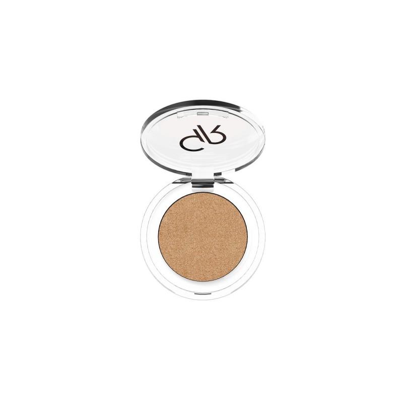 Soft Color Pearl Mono Eyeshadow - Perłowy cień do powiek - 45 - Golden Rose
